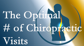 It's up to you and your pain as to how often you see the Groton chiropractor.