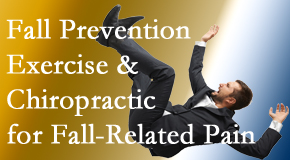 Shoreline Medical Services/ Hutter Chiropractic Office presents new research on fall prevention strategies and protocols for fall-related pain relief.