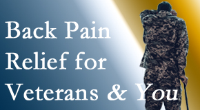 Shoreline Medical Services/ Hutter Chiropractic Office cares for veterans with back pain and PTSD and stress.