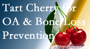 Hutter Chiropractic Office shares that tart cherries may enhance bone health and prevent osteoarthritis.