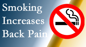 Shoreline Medical Services/ Hutter Chiropractic Office explains that smoking heightens the pain experience especially spine pain and headache.
