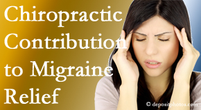Shoreline Medical Services/ Hutter Chiropractic Office offers gentle chiropractic treatment to migraine sufferers with related musculoskeletal tension wanting relief.