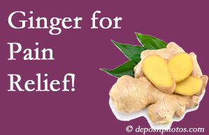 Groton chronic pain and osteoarthritis pain patients will want to investigate ginger for its many varied benefits not least of which is pain reduction.