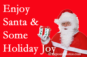 Groton holiday joy and even fun with Santa are studied as to their potential for preventing divorce and increasing happiness.