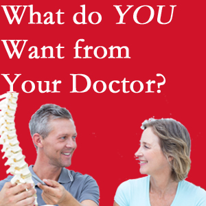 Groton chiropractic at Shoreline Medical Services/ Hutter Chiropractic Office includes examination, diagnosis, treatment, and listening!