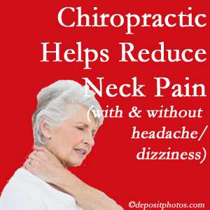Groton chiropractic care of neck pain even with headache and dizziness relieves pain at a reduced cost and increased effectiveness.