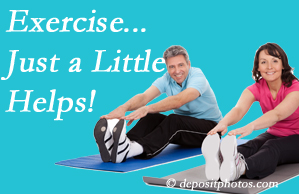 Shoreline Medical Services/ Hutter Chiropractic Office encourages exercise for improved physical health as well as reduced cervical and lumbar pain.