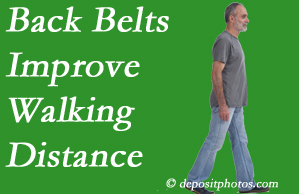 Hutter Chiropractic Office sees benefit in recommending back belts to back pain sufferers.