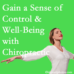 Using Groton chiropractic care as one complementary health alternative boosted patients sense of well-being and control of their health.