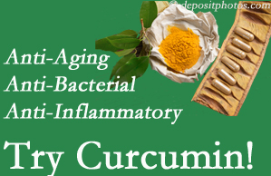 Pain-relieving curcumin may be a good addition to the Groton chiropractic treatment plan.