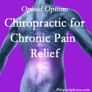 Instead of opioids, Groton chiropractic is beneficial for chronic pain management and relief.