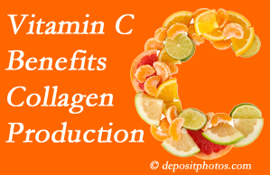 Groton chiropractic offers tips on nutrition like vitamin C for boosting collagen production that decreases in musculoskeletal conditions.