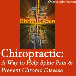 Hutter Chiropractic Office helps relieve musculoskeletal pain which helps prevent chronic disease.